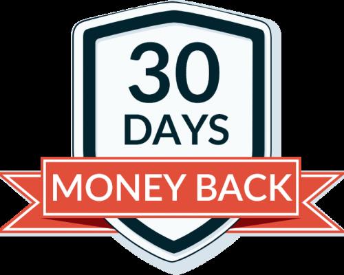 The Sleep Solution System 30 Days money back guarantee